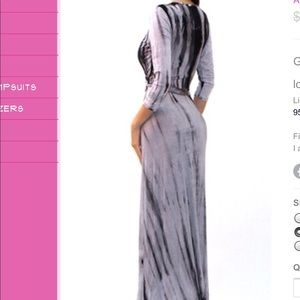 Maxi Dress (Also in Blue)